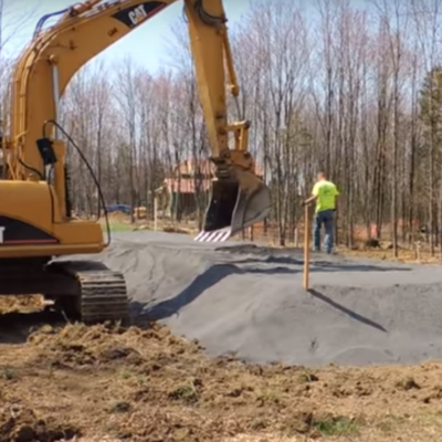 Avoid a septic mound with the LandSaver MBR